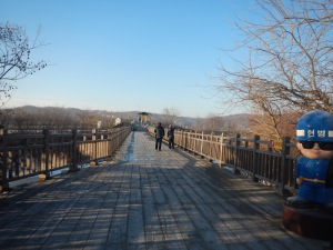 It may not look like an architectural miracle, but Freedom Bridge is a symbol of peace and hope, as it held the first exchange of prisoners  after the signing of the armistice agreement that ended the Korean War. 12,773 prisoners were returned on this bridge